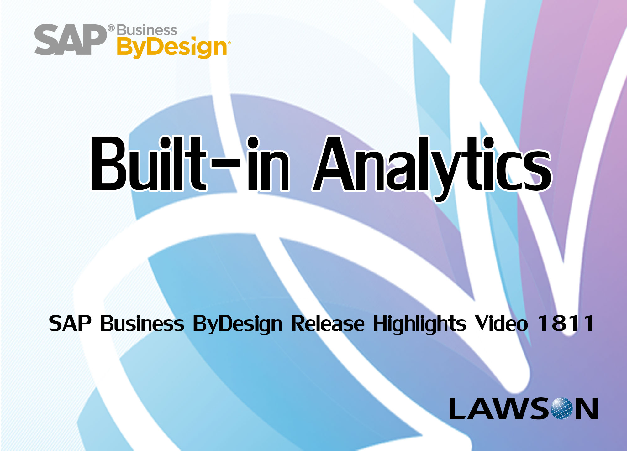 Built-in Analytics